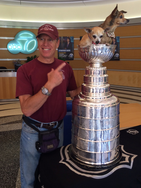 Rob Lerner Photos - Stanley Cup dogs